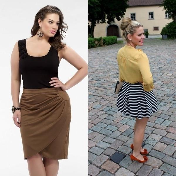 d0da4c845bb Как подобрать юбку на широкие бёдра  фото