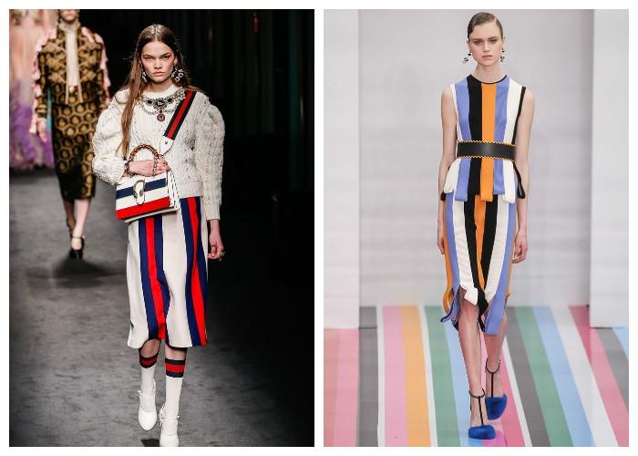 e4ece58ee039 Да-да, он присутствует почти во всех коллекциях женской одежды, которые  были представлены на Неделе моды в Милане 2016-2017. Тут было все —  костюмы, блузки, ...