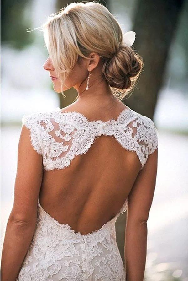 Как правильно подобрать и носить платье с открытой спиной: фото