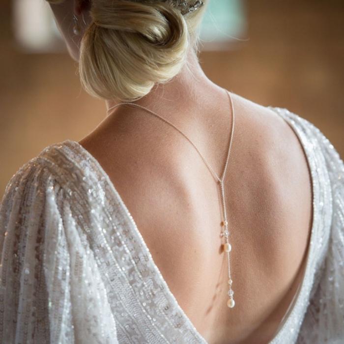 Женская спина в платье фото