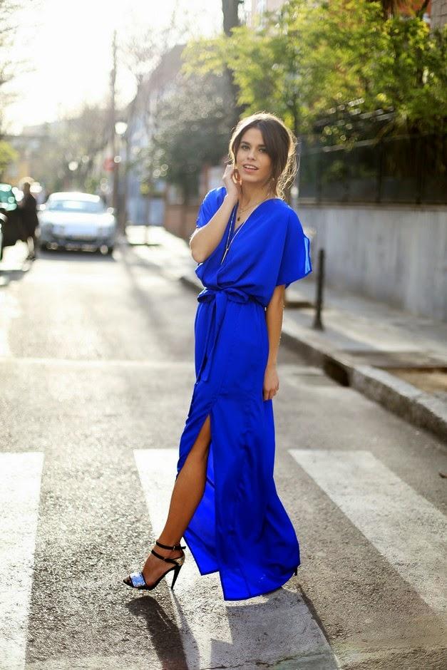 Образы с платьем запахом