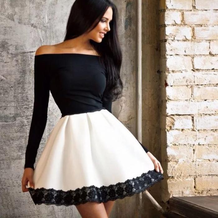Ежедневные женские платья для худых женщин