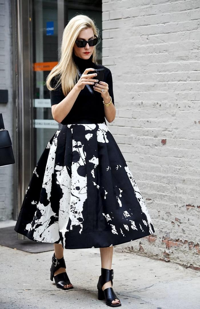 Платье с пышной юбкой и пиджаком