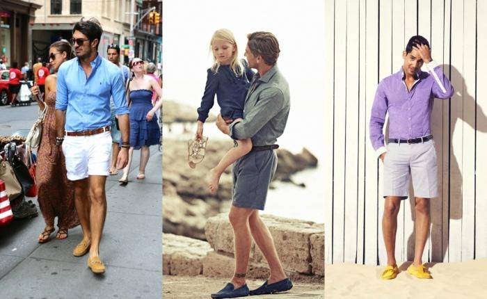 Как и с чем носить мужские мокасины - фото e32b2d02855