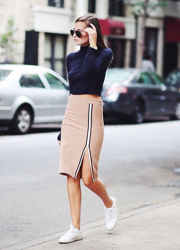 Стильные спортивные юбки