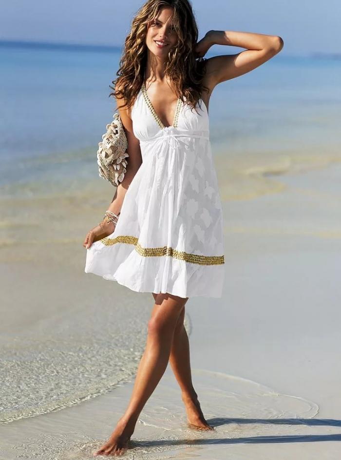 Легкие открытые платья