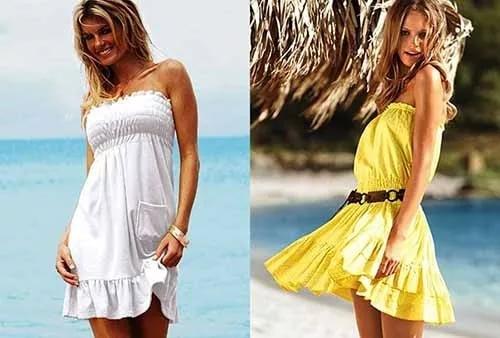 Воздушные воланы платье