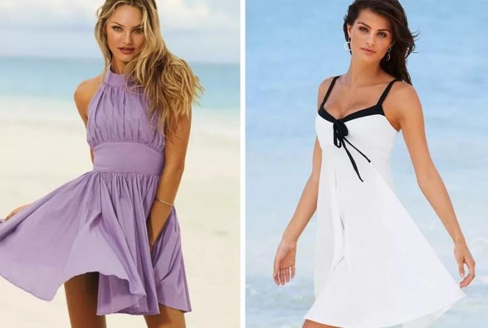 Фасон легкого летнего платья