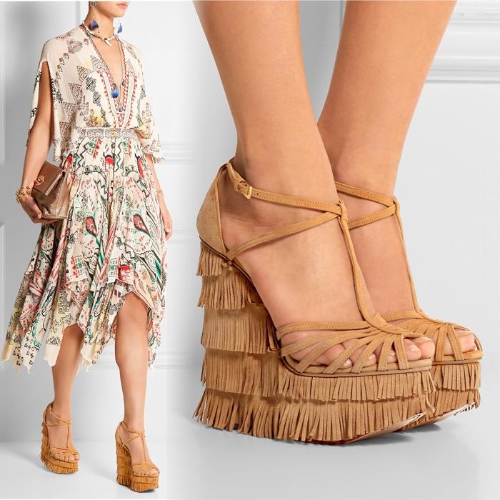 58dc15741 ... сандалии на среднем каблуке, сабо с различными дизайнерскими  дополнениями. Итак, поговорим подробнее про модные сабо, сандалии, сланцы  весна-лето 2017.