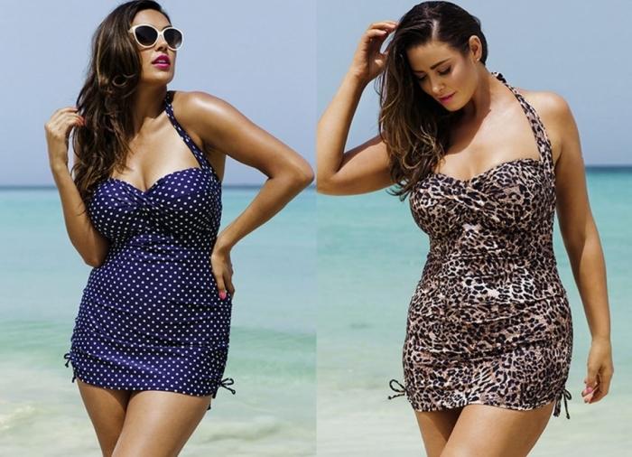 3741bf2107987 Новый пляжный сезон предлагает всем толстушкам беспроигрышные варианты  стильных купальников.