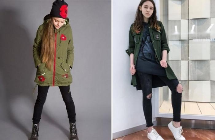 Модные куртки зима 2018-2018 подростки