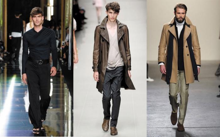 Стильный гардероб можно сформировать, опираясь на модные последние  тенденции. Какой же будет мужская мода осень-зима 2017-2018  1910022c099