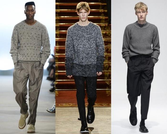 Модные мужские пуловеры 2018