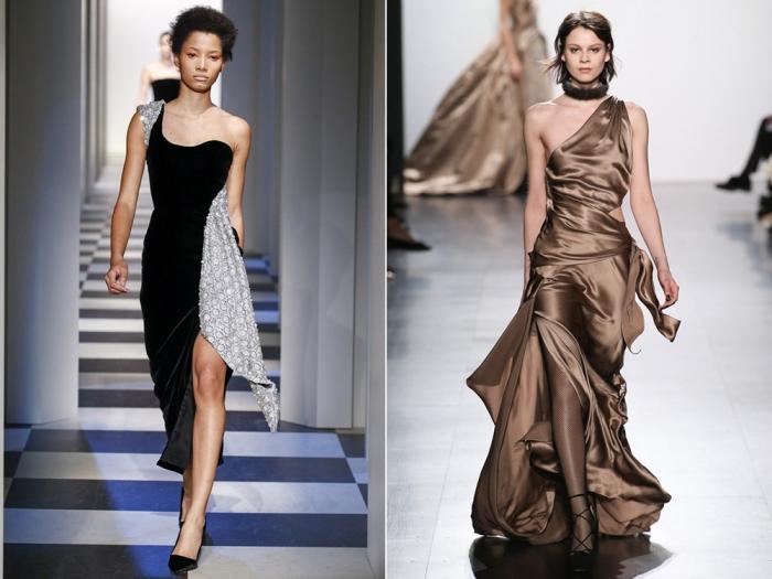 690d20740c5 Модные вечерние платья осень-зима 2017-2018  фото