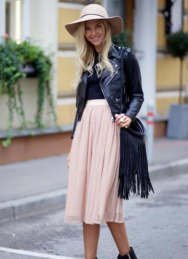Фасоны осенней юбки
