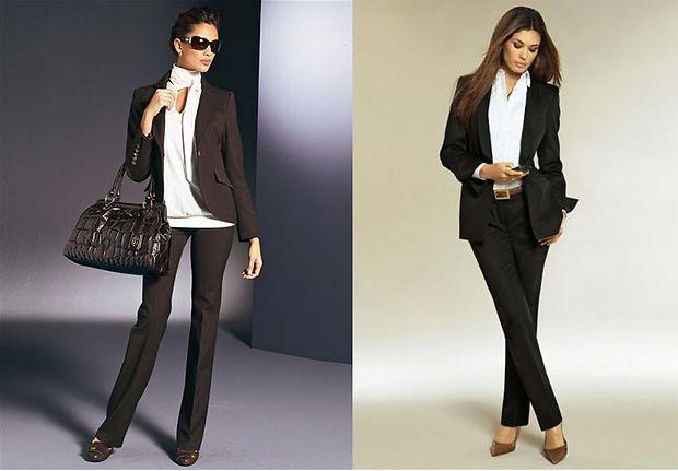 583baa0fccd0502 Деловые чёрные костюмы выполнены из мягкого бархата и способны украсить  любую женщину. Модельеры предложили в последней коллекции очень изысканные  модели ...