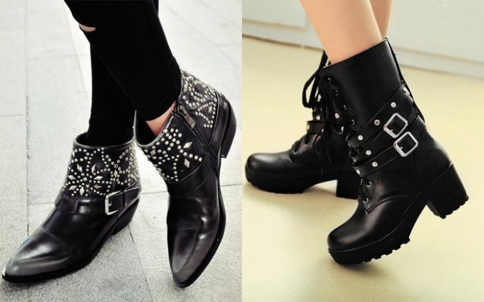 c5897d10 В формировании модных луков надвигающегося сезона осень-зима 2017-2018  ведущая роль принадлежит именно женской обуви, а точнее — ботинкам.