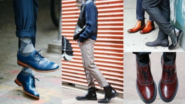 012917a5b В тренде туфли на массивной фактурной подошве, изделия в спортивном стиле и  высокие сапоги. В линейках широко представлена экстравагантная мужская  обувь в ...