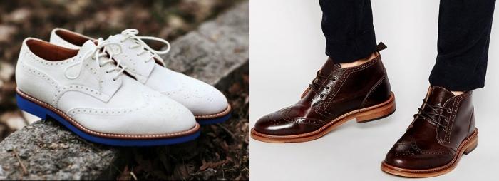 7134a98f2 Мужчинам-консерваторам также есть из чего выбрать себе обувь – в коллекциях  осень-зима 2017-2018 много интересных классических моделей.