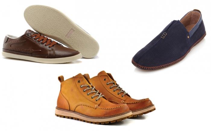 Модная мужская обувь осень-зима 2018: модели + фото