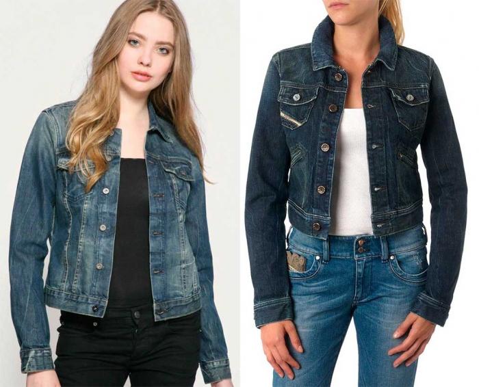 4d2ae3c5d08 Модные женские джинсовые куртки осень-зима 2017-2018  фото