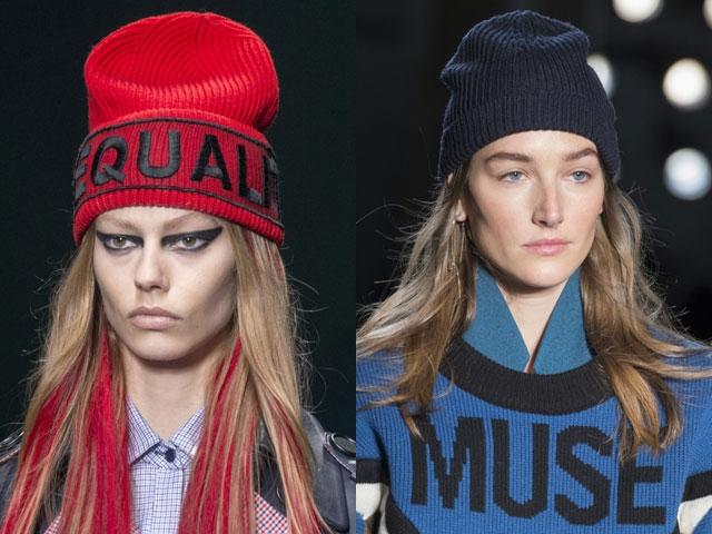 Модные вязаные шапки зима 2017-2018-2017