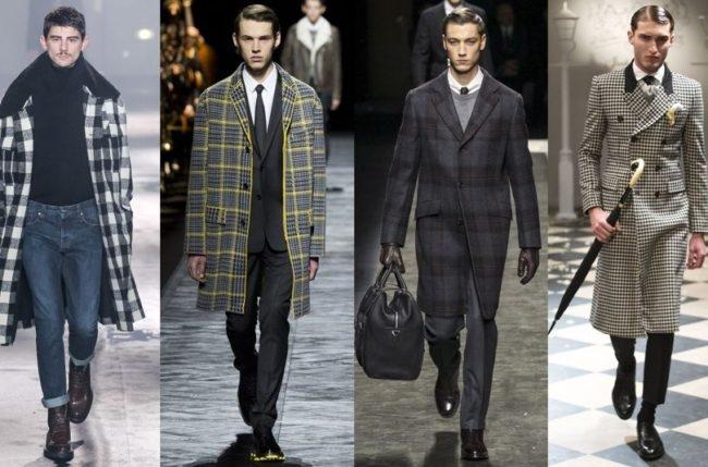 f3d1a69000a Последние коллекции мужских пальто пестрят самыми разнообразными  современными моделями. Многим модникам придутся по душе классические  пардессю