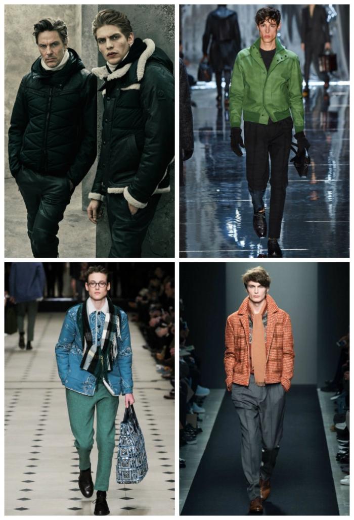 b7e1ab584ad Модные мужские куртки осень-зима 2017-2018  фото