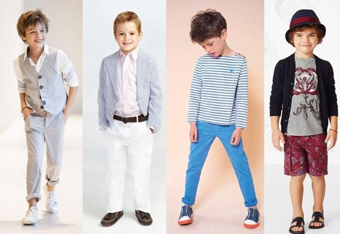 Мода для детей осень фото