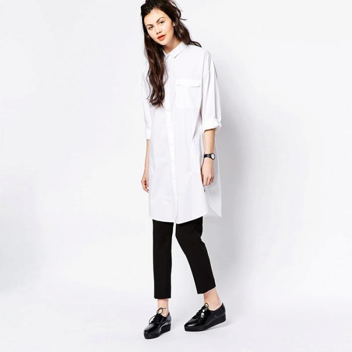 4d313c0bec13ff4 Как носить рубашку с длинными рукавами в casual стиле