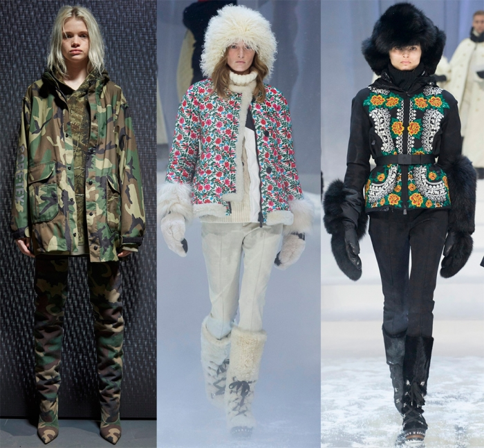 мода зима 2019 верхняя