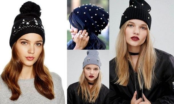 2018 зимние шапки женские из меха 2018. Модные женские шапки осенне ... 6e68c79bae549