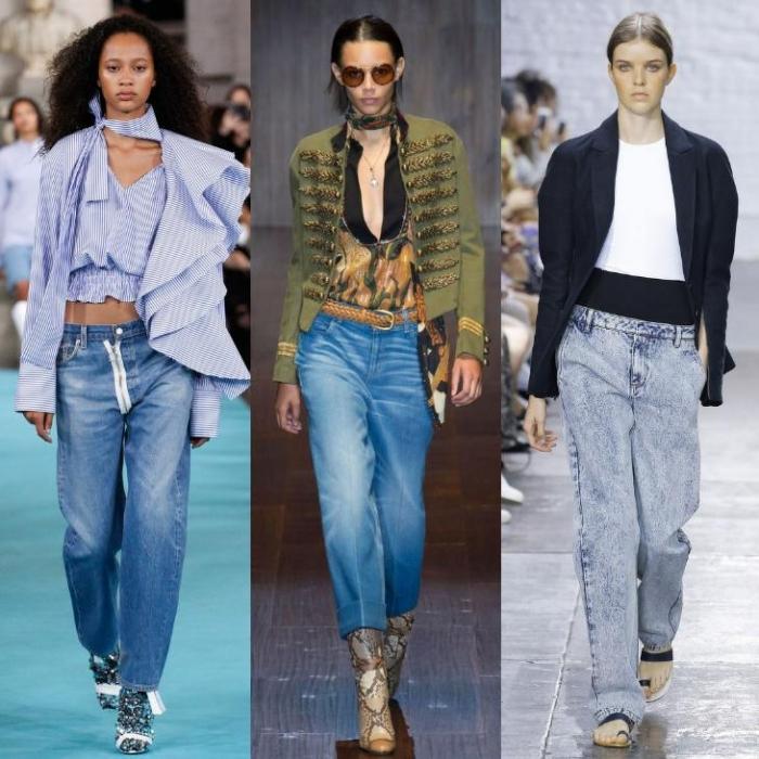 f188a69121b Какие джинсы будут модными в сезоне осень-зима 2018-2019 - фото