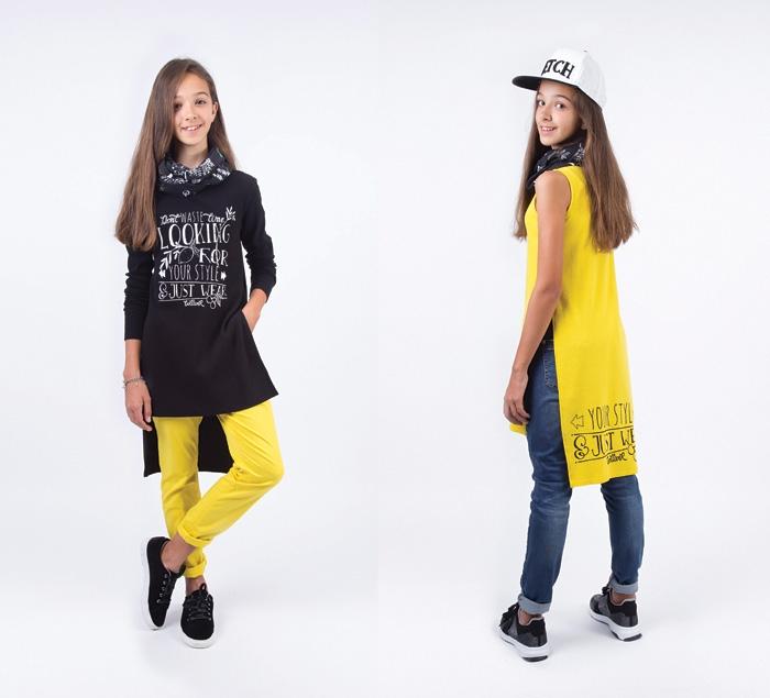 ad5371120c4c7 Модные образы весенне-летнего сезона 2019 года для девочек-подростков