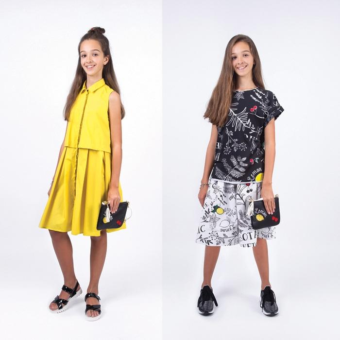 58681b6d1f2 Модные платья для девочек-подростков весна-лето 2019  фото