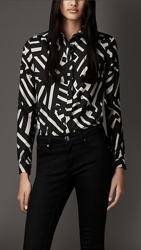 Модели стильных блузок