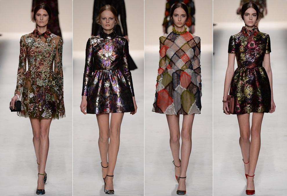 Платья модный осень зима 2015