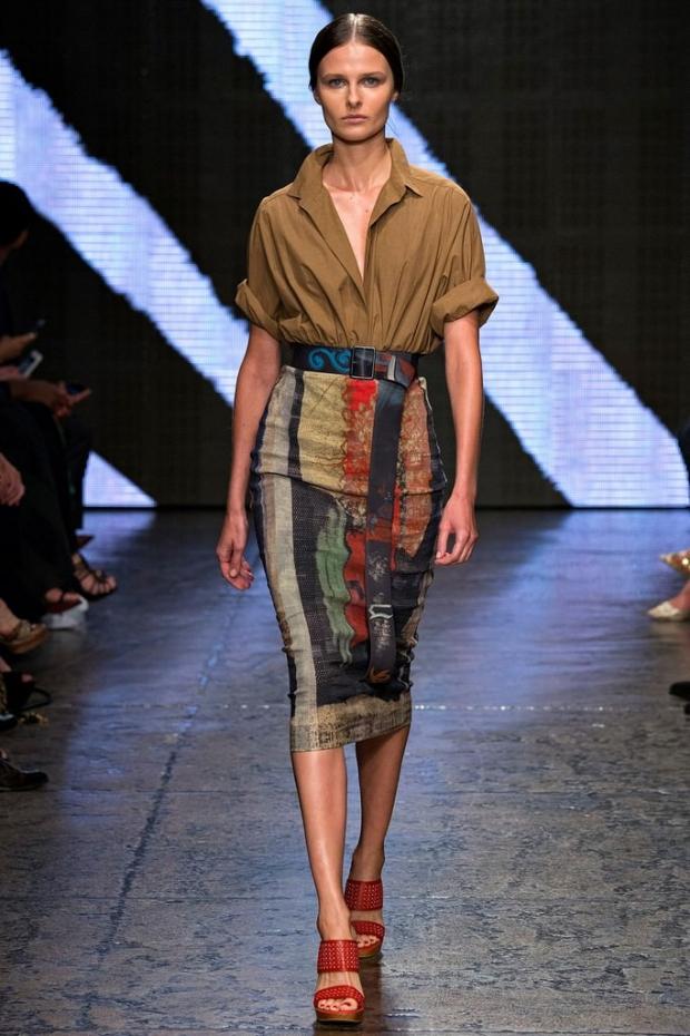 Модная юбка зима 2015