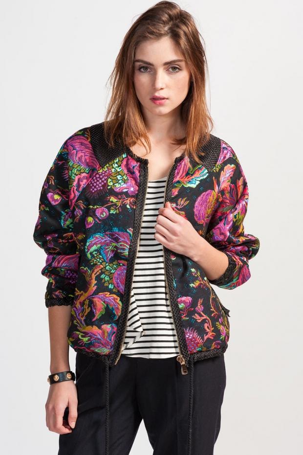 Модные куртки и бомберы весны 2014