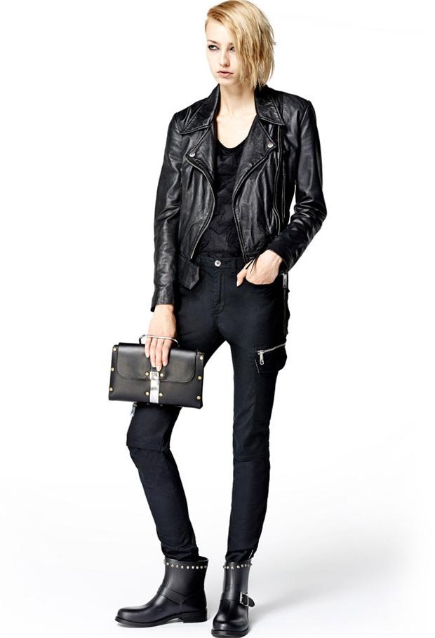 Модные черные брюки с доставкой