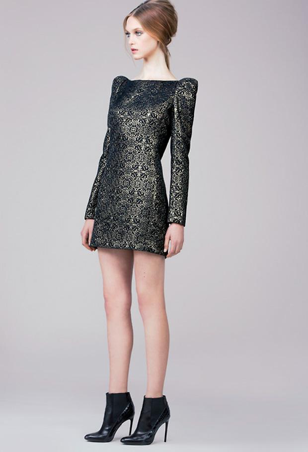 платья осень зима 2014 15