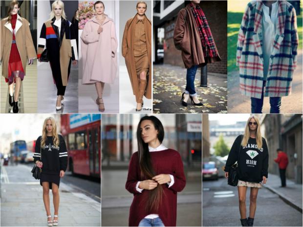 Модные женские длинные пальто: фото модных осенних