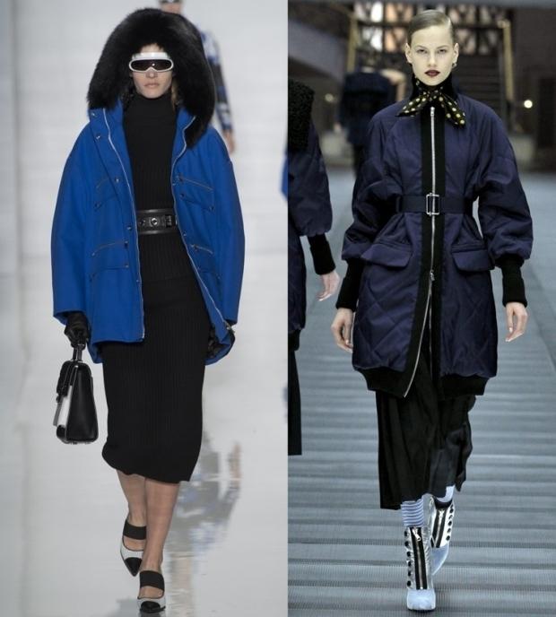 модные зимние куртки 2016 женские фото