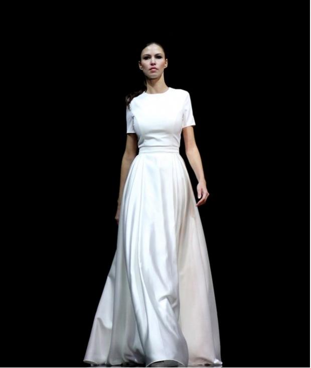 Свадебные платья фото минимализм