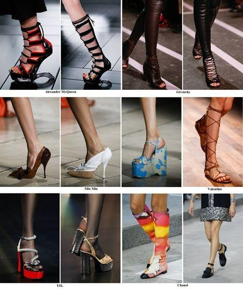 Модные летние ботинки