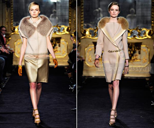 Зимнее пальто от Aquilano.Rimondi