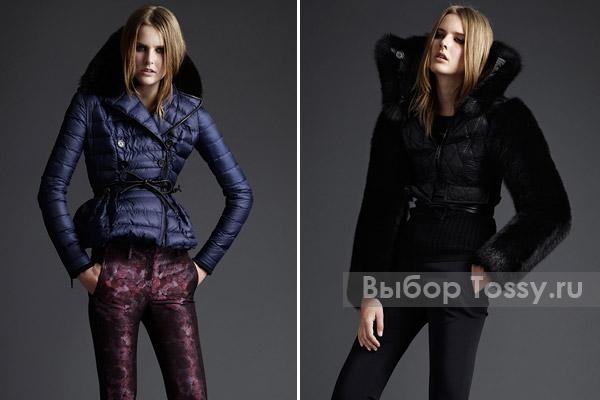 Короткие зимние куртки