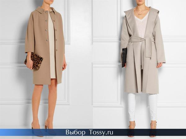 Фото женского кашемирового пальто