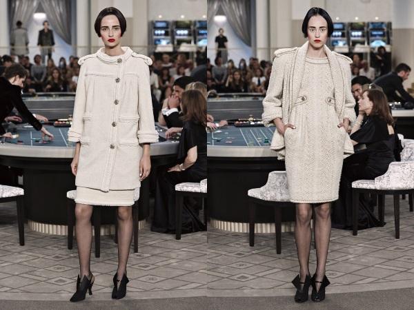 Стильные пальто шанель