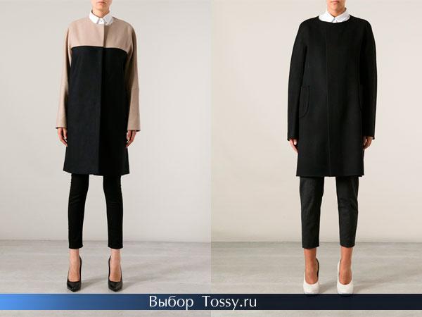 Кашемировые осенние пальто